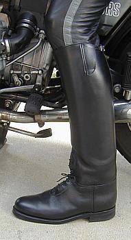 Big Black Boots Dehner Custom Motor Patrol Boots