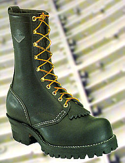 Big Black Boots Wesco Jobmaster Logger Boot